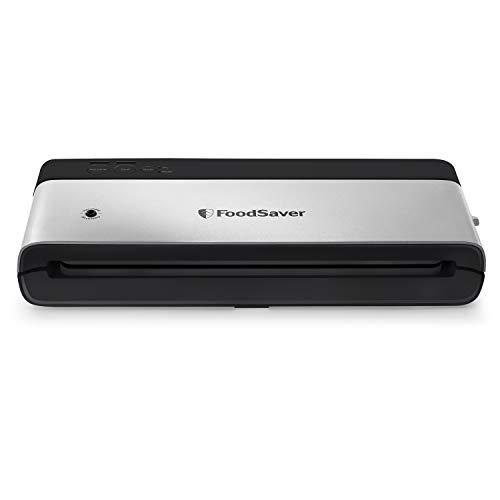 FoodSaver VS0150 Sealer PowerVac Compact Vacuum Sealing Machine, Vertical Storage, Black