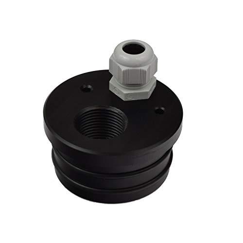 Agora-Tec® Brunnendeckel für 3 Zoll DN 80 Brunnenrohr mit 1 Zoll (30,3mm) IG Innengewinde