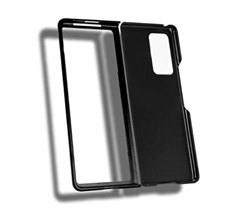 DOHUI Cover per Samsung Galaxy Z Fold 2 5G, Custodia Ultra Sottile PC Superficie Opaca Protettiva Case [Anti-Graffio] per Samsung Galaxy Z Fold 2 5G (Nero)
