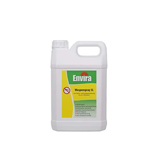 Envira Wespen-Spray - Anti-Wespen-Mittel Mit Langzeitwirkung - Geruchlos & Auf Wasserbasis - 5 Liter