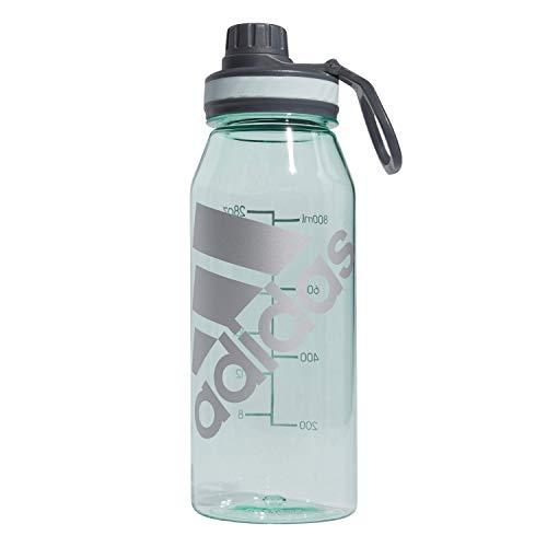 adidas Superlite 1L (32 oz) Plastic Water Bottle,Dash Green/Metal Foil,ONE Size