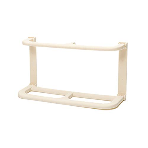 JFCXBSSL Zapatero de 25 x 8 x 13 cm, para colgar en la pared, estante de almacenamiento de doble pliegue para muebles de hogar