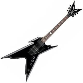 Dean Dimebag Razorback DB Series Electric Guitar with Floyd Rose Bridge and Case - Classic Black