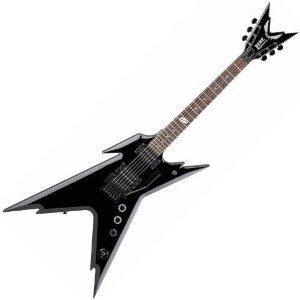 Dean Guitars RZR DB F CBK Guitare Métal Noir
