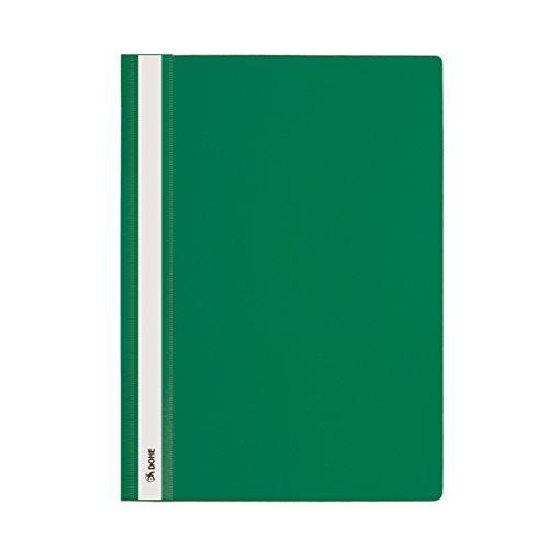 Dohe 91360 - Dossiers con fástener, A4, color verde