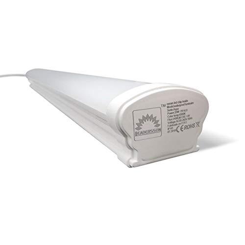 Pantalla LED SLIM AQUA con chip interior OSRAM · Regleta LED Estanca...