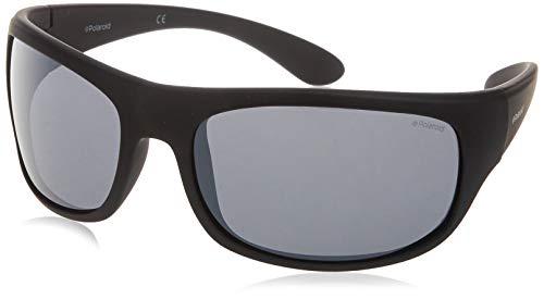 Polaroid SPORT 7886 gafas de sol, MTT NEGRO, 66 Unisex Adulto