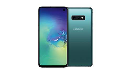 """Samsung Galaxy S10e Smartphone, Display 5.8"""", 128GB, Dual SIM,  Verde (Prism Green) [Versione Tedesca]"""
