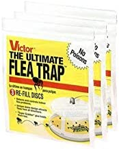 Victor Ultimate Flea Trap Refills 3 Pack (9 Traps Total)