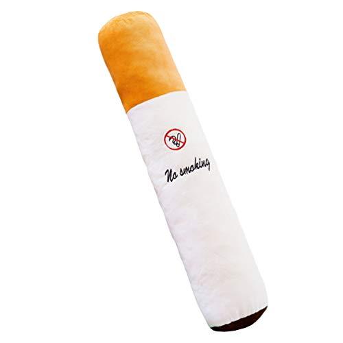 NUOBESTY Cojín para Cigarrillos, no Fumar, para Decorar el sofá cilíndrico, Regalo para el hogar o el Coche, 50 cm (sin Recipiente Interior), Picture 1, 75 * 8cm