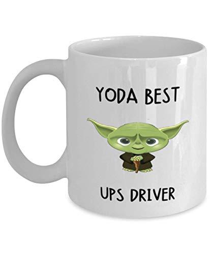UPS Driver Mug Yoda Best UPS Driver for Men Women Coffee Tea Cup 11oz