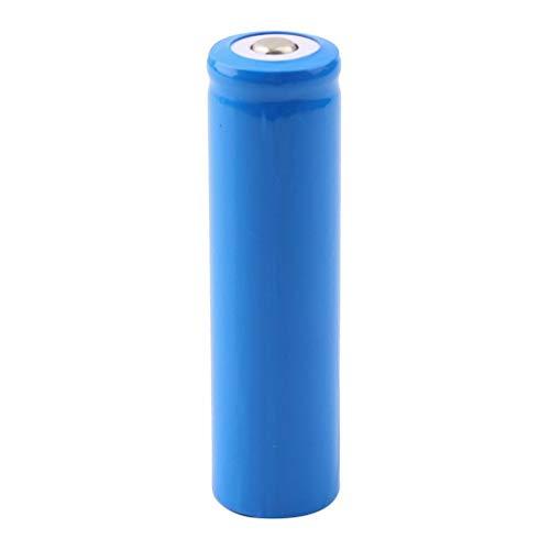 Leepsom 18650 Battery 3.7 Volt Rechargeable, High Capacity 5000mAh Lithium ion Batteries, Vape Battery 18650 for Flashlight Headlamp Handheld Fan Solar Light Speaker Power Bank