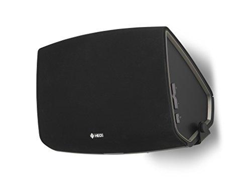 SoundXtra SDXH5WM1021 schwenkbare Lautsprecher-Wandhalterung für Denon HEOS 5 (Single) schwarz