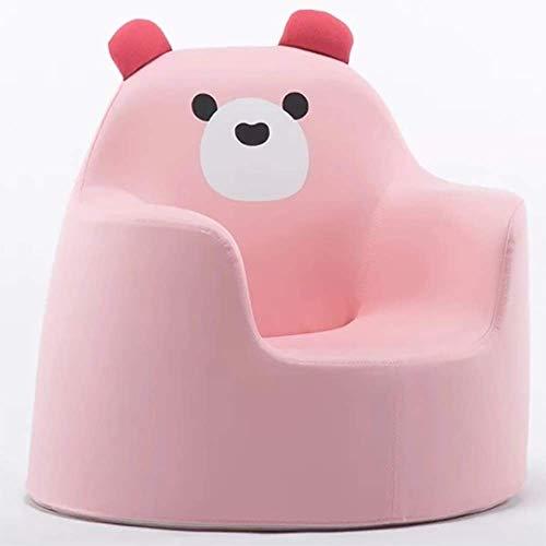 Kinderstoel Sofa Seat-Een verscheidenheid aan Cartoon stijlen zijn beschikbaar, Er is een kind dat is perfect voor u, gebruikt wanneer het kind leest, Pas de zittende positie Bear roze