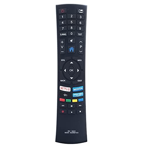 ALLIMITY RC1822 Fernbedienung Ersetzen für Medion TV RC-1822 40069104 MSN40069104 MSN-40069104