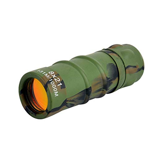 Best Prices! Carl Artbay Monocular HD Telescope 8x21 Low-Level Night Vision Telescope for External B...