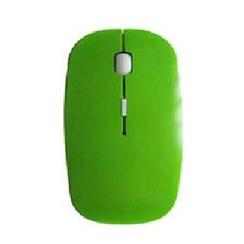CNluca 2.4G Wireless Mouse Usb Receiver Mini Portable Optical Mouse Ergonomic Mice Universal For Laptop Pc Mouse green