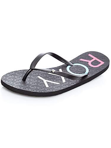 Roxy Sandy II, Zapatos de Playa y Piscina para Mujer, Negro (Black Multi Bk5), 36 EU