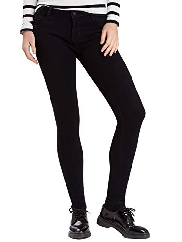 Cross Jeans Push Up Jeans Page - Super Skinny Fit - Zwart