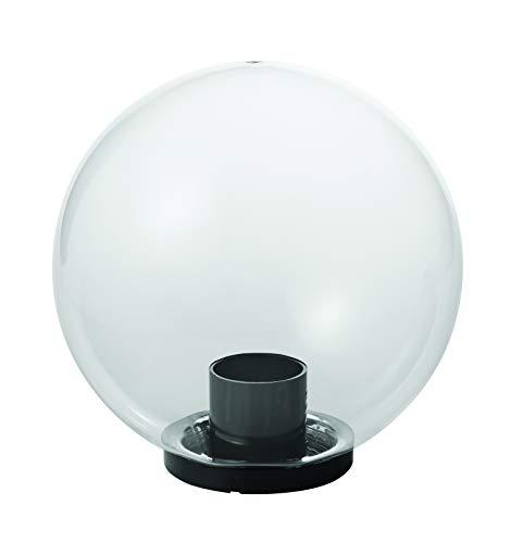 Mareco Luce 1080301T Lampada Sfera Lampione in acrilico trasparente 75W Attacco E27 Diametro 30 cm