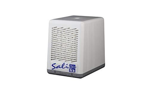 SALIN S2-Natursalz Luftfiltersystem, Salzlufttherapie Gerät, Pollenfilter, Staubfilter, Luftreiniger, White, Ja