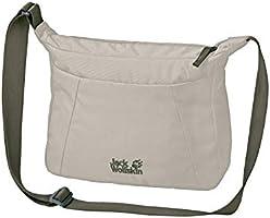 Jack Wolfskin Valparaiso Bag, Bolsa con fuelles para Mujer, negro, Talla única