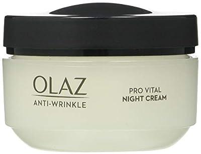 OLAY Anti-Wrinkle Pro Vital Anti-Aging Moisturizing Night Cream, 50 ML by Procter Gamble