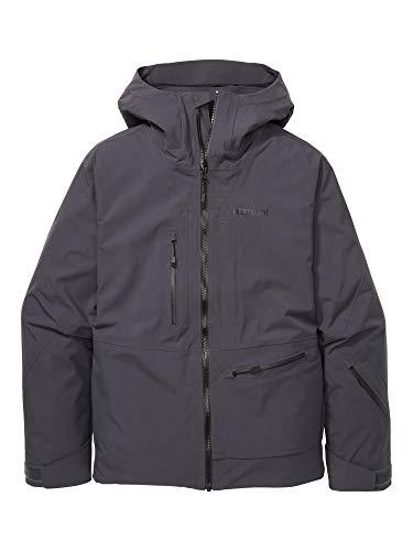 Marmot Refuge Jacket Chaqueta para la Nieve rígida, Ropa de esquí y Snowboard, Resistente al Viento, Resistente al Agua, Transpirable, Hombre, Dark Steel, XL