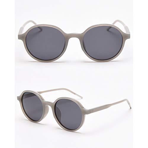 SXRAI Gafas de Sol polarizadas Uv400 para Mujer Gafas de Sol Redondas Negras Naranjas para Hombres Que conducen,C3