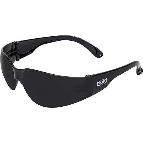 Global Vision Eyewear Rider Occhiali di Sicurezza, Super Dark