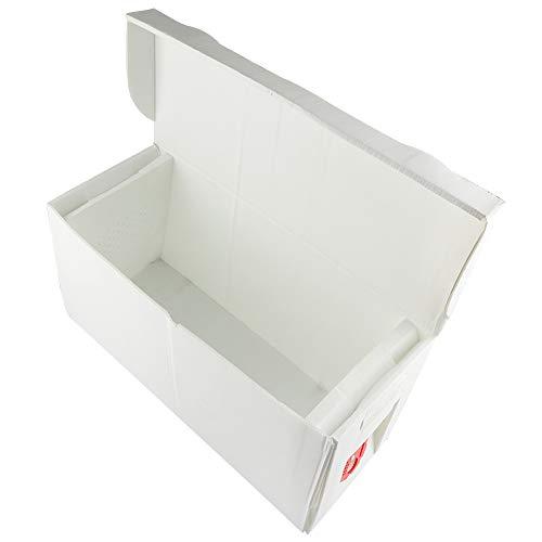 Oumij Plastic Bee Hive Box Lightweight Portable Beehive Beekeeping Equipment Cardboard Nuc Box Bee...