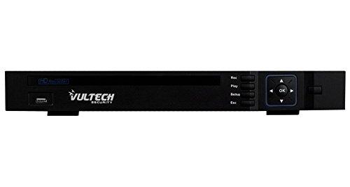VulTech Security CM-960AHD8P DVR 8 Canali, Ibrido, Analogico, AHD, 2 Slot, HD, Nero