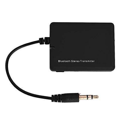 Richer-R émetteur Audio Bluetooth, Transmetteur de Musique stéréo sans Fil Bluetooth 3.5mm Adaptateur A2DP HiFi pour iPod, PSP, Lecteur MP3, TV, Ordinateur