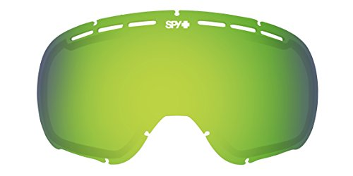 Spy Optic Marshall Snow Goggles Replacement Lens, Yellow Lens with Green Spectra