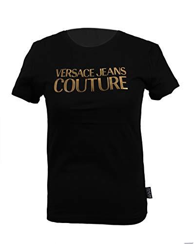 Versace Camiseta de Mujer Jeans Couture Logo Foil colección 2020 (L)