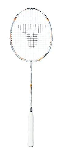 Talbot Torro 439522 Schläger Badm. Isoforce 211.4, Weiß-Silber-Orange
