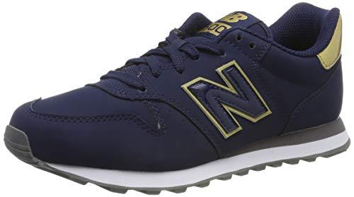 New Balance 500, Baskets Femme, Bleu (Navy Navy), 37.5...