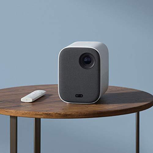 Qucking Light Proyector, Proyector Portátil Proyector Proyector Proyector Edición Juvenil HD Proyector De Casa AI Control De Voz Proyección TV 3D