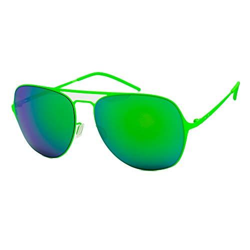 Gafas de sol I-thin Metal - Verde Led | Verde / Espejo