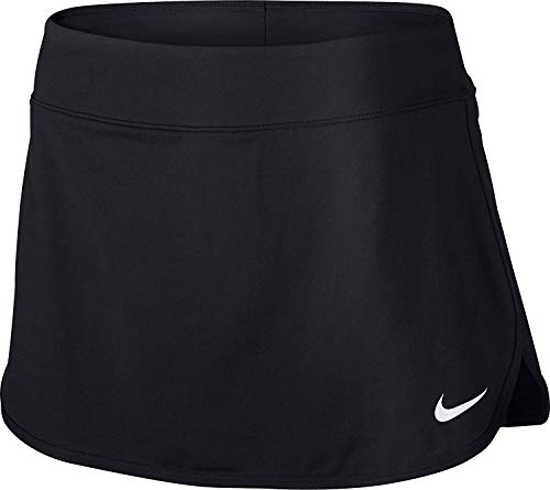 Nike Pure Skirt-Gonna da Donna, Donna, W Nkct Pure, Nero/Bianco, XL