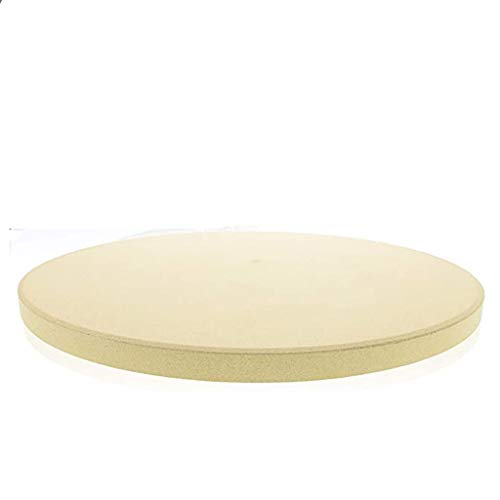 WJLED Pizza Stone for Best Crispy Crust Pizza,11Inch Round Pizza Grilling Stone Baking Stone Small Cooking Stone for Oven Perfect Size for Personal Pizza Bread Cookies
