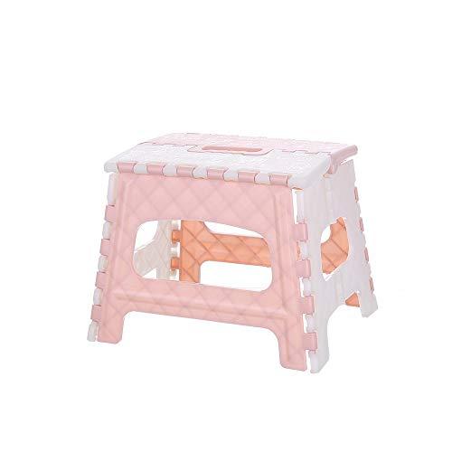 Omenluck Kleiner Klappstuhl / Tritthocker, zusammenklappbar, für Kinder und Erwachsene, für Küche, Garten, Badezimmer, 1 Stück