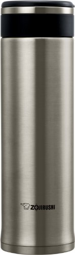 Zojirushi SM-JHE48XA Stainless Steel Travel Mug, 16-Ounce/0.48-Liter