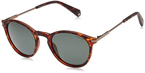 Polaroid Herren PLD 2062/S Sonnenbrille, Braun (MATT HVNA), 50