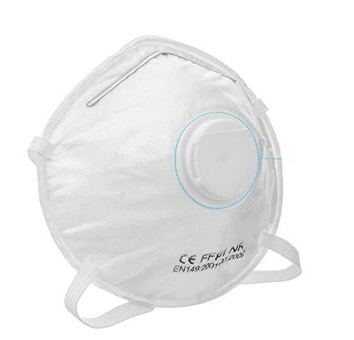 3x maschera di protezione FFP1 con valvola