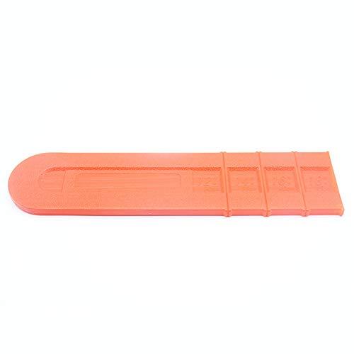 Couvercle de barre de tronçonneuse en plastique durable 45,7 cm
