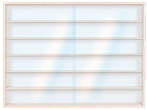 Alsino Setzkasten Wandregal Hängevitrine v-13a Vitrine Spur H0 Märklin Regal 100 cm x 58 cm x 8,5 cm mit Nuten