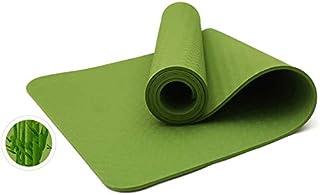 Yoga mat Quality Folding Non-Slip Yoga mat Surface Light Weight Comfortable Yoga mat 10mm Natural Rubber TPE Yoga Mat for ...