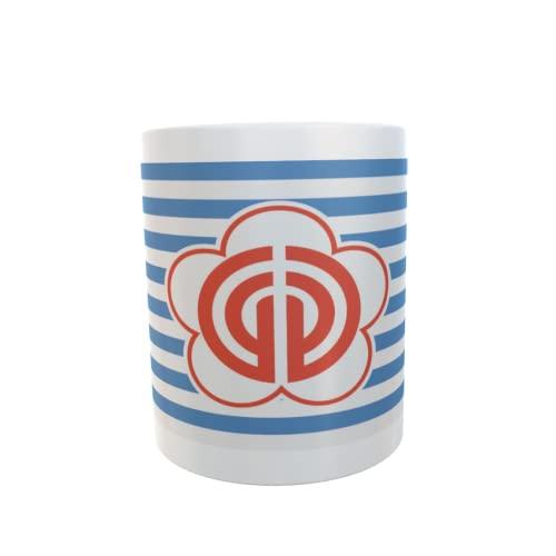 U24 Tasse Kaffeebecher Mug Cup Flagge Taipeh