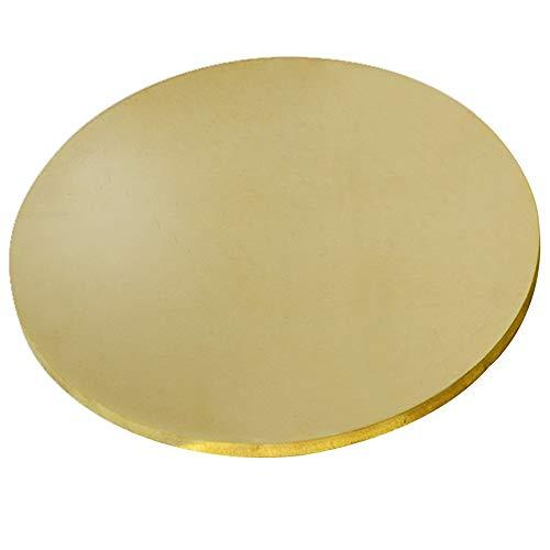 Asitlf Brass Rond Vel H62 Koper CU metalen plaat, dikte 1mm,Diameter 150mm
